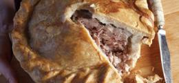 Pastel inglés de carne de cerdo